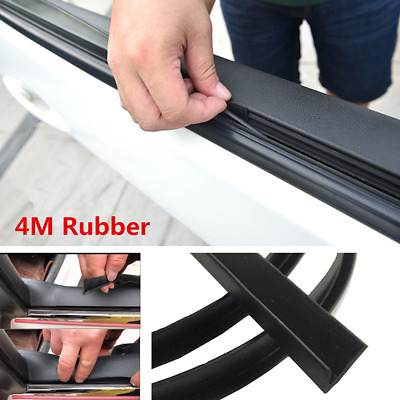 $ CDN12.99 • Buy 4M Car Door Window Trim Edge Moulding Rubber Noise Weatherstrip Seal Strip Black