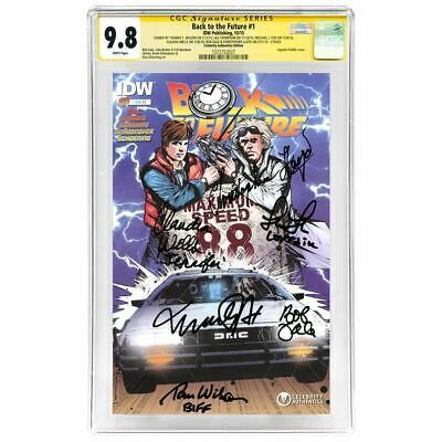 AU1881.51 • Buy Michael J. Fox And Back To The Future Cast Autographed #1 Comic CGC SS 9.8