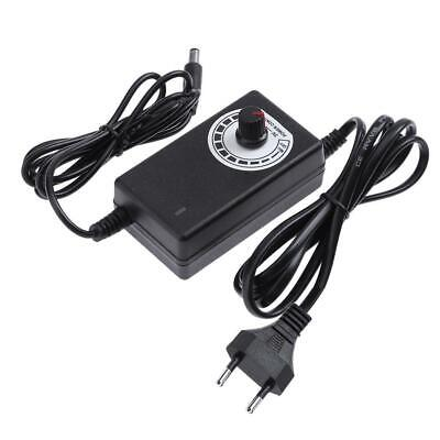 AC To DC Adapter 3-12V 2A Adjustable Power Supply Motor Speed Controller EU • 6.70£
