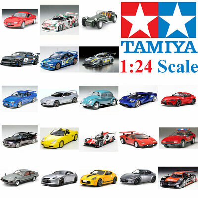 Tamiya 1:24 Plastic Model Car Kit Multiple Choice • 15.48£