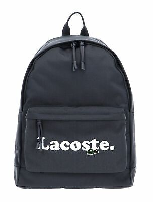 LACOSTE Backpack Smoked Pearl Print • 64.32£