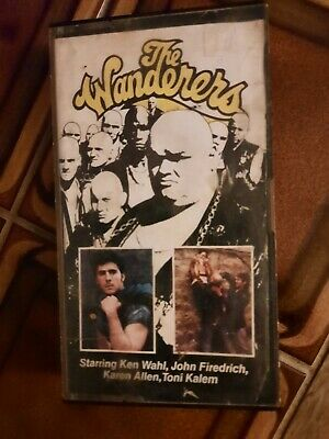 The Wanderers - VHS - Pre Cert -  Original First  Issue (Picture Time) • 6.99£