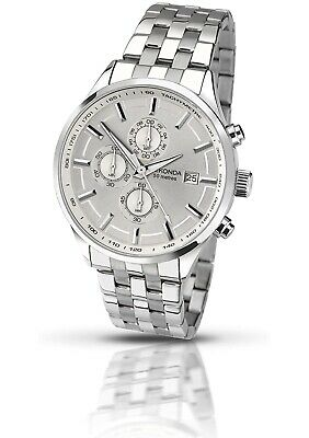 Sekonda Men's Quartz Watch With Silver Dial Chronograph Display And Silver • 49.99£