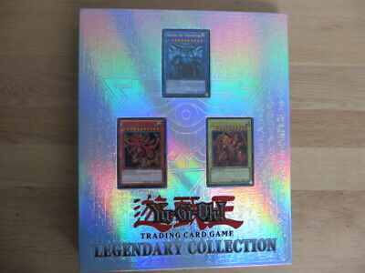 YuGiOh! Legendary Collection Folder Including Egyptian Gods &  6 X Booster Packs • 50£