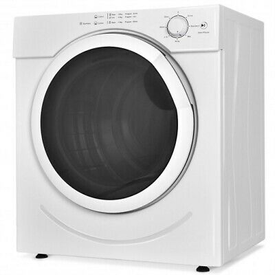 View Details 27 Lbs 3.21 Cu. Ft. Electric Tumble Compact Cloths Dryer • 476.48$