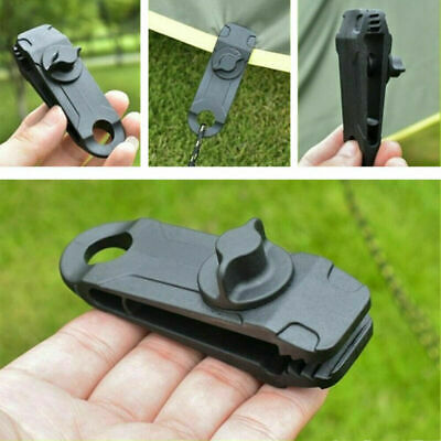 1-20X Reusable Tent Tarp Tarpaulin Clip Clamp Buckle Camping Tool Heavy Duty UK • 2.99£