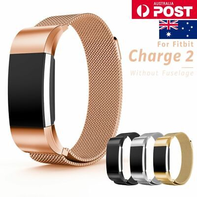 AU11.99 • Buy For Fitbit Charge 2 Band Metal Stainless Steel Milanese Loop Wristband Strap AU