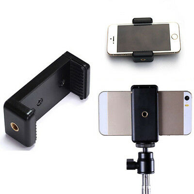 AU8.89 • Buy Camera Stand Clip Bracket Holders Monopod Tripod Mount Adapter For Mobile P C