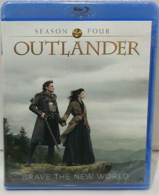 AU24.13 • Buy Outlander 4th Season Blu-ray Disc - New And Sealed