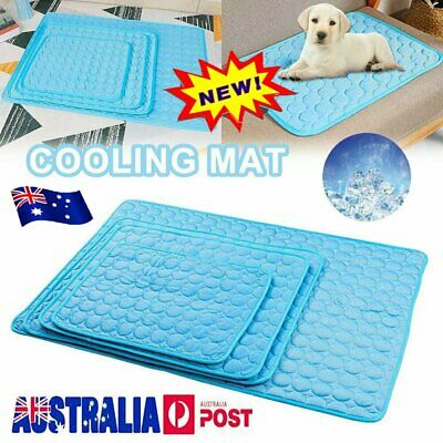 AU21.50 • Buy Pet Cooling Mat Non-Toxic Cool  Pad Cooling Bed For Summer Dog Cat Puppy HOT AU