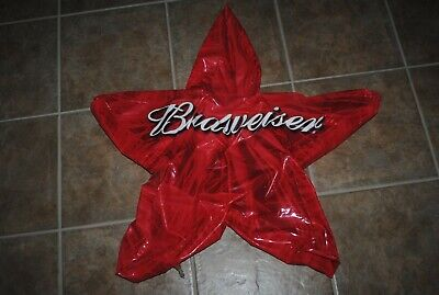 $ CDN13.08 • Buy Budweiser Beer Inflatable Red Star, 36  X 36 , Vintage Store Display