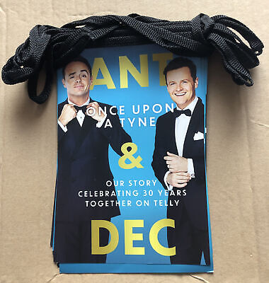 Promotional Ant And Dec BUNTING Once Upon A Tyne (this Is Not A Book) • 3.80£