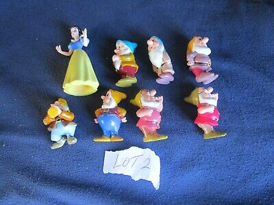 Snow White And The Seven Dwarfs Figures (Disney) • 3£