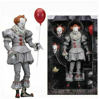 NECA Stephen King's It The Clown Pennywise PVC Horror Action Figure Model Toys • 14.69£