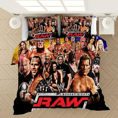 £22.99 • Buy Wrestling Gladiator Cover Quilt Bedding Set Pillow Case Single Double King Size