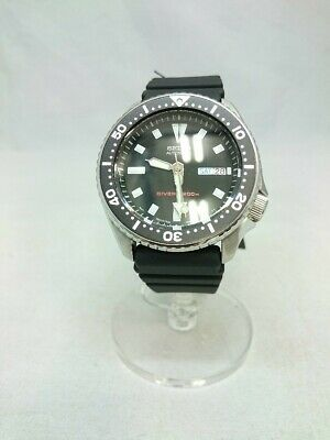 $ CDN844.77 • Buy Seiko Quartz Watch/Analog/Rubber/Blk/Skx173/Divers 200M