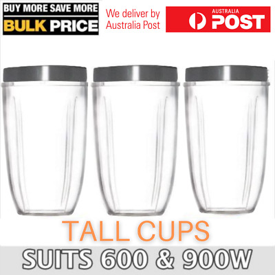 AU23.95 • Buy COLOSSAL CUP 32oz BIG LARGE TALL Cup Suits NutriBullet 600 900w Blender Model