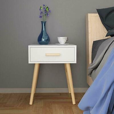 £59.90 • Buy White 2 Drawers Bedside Table Cabinets Bedroom Furniture Wooden Chest Of Drawers