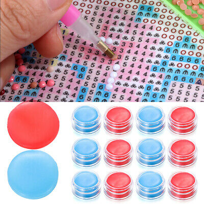 AU13.80 • Buy 6/12pcs DIY Diamond Painting Glue Clay Embroidery Cross Stitch Drilling Mud New