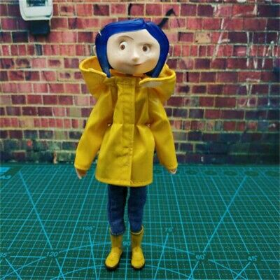7 Inch Coraline Bendy Fashion Doll In Raincoat And Boots Caroline Figure Gift!/ • 19.85£