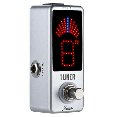$ CDN27.48 • Buy Rowin Guitar Tuner Pedal High Precision Ture Bypass For Guitar & Bass