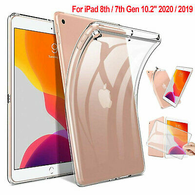 AU9.69 • Buy For IPad 7th 8th Gen 10.2 /Air 1 2 3 /9.7  6th 5th Clear Case Rubber Soft Cover