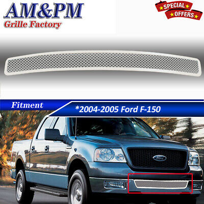 $51.32 • Buy Fits 04-05 Ford F-150 Lower Bumper Stainless Mesh Grille Insert