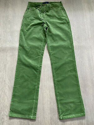 BODEN  Green  Cord Straight Leg  Jeans Size 8R  WC028. NEW • 17.99£