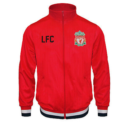 £24.99 • Buy Liverpool FC Boys Jacket Track Top Retro Kids OFFICIAL Football Gift