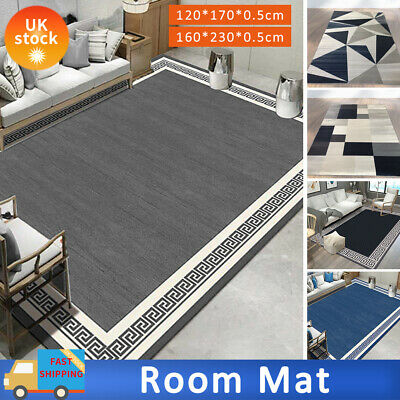 Large Rugs Living Room Carpet Mat Rug Runner Non Slip Modern Bedroom Carpets New • 36.89£