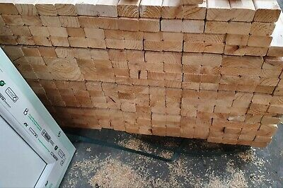 Brand New Untreated 3x2 CLS, 65mm X 38mm, 3m Long. • 5£