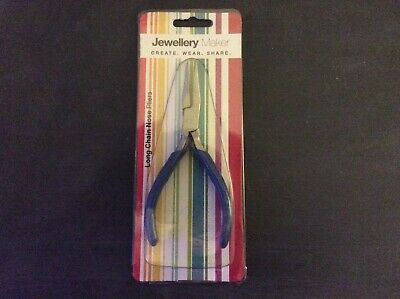 Long Chain Nose Pliers - Jewellery Maker - Brand New • 1.50£