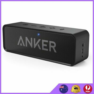AU79.90 • Buy Anker Portable Bluetooth 4.0 Speaker With Dual High-Power 3W Drivers + Bass Port