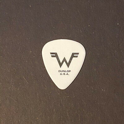 $ CDN13.03 • Buy Guitar Pick Collection - WEEZER.  RIVERS CUOMO.  CLASSIC LOGO.  RIVERS.  WHITE