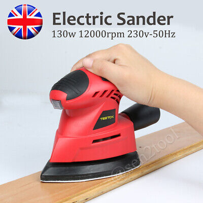 Hand Held Mouse Sanding Machine Small Electric Tight Corners Sander Angle Base • 16.89£