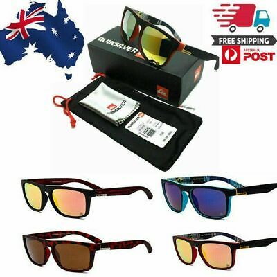 AU18.79 • Buy New QuikSilver Sunglasses With Box Outdoor Sport Beach Surfing With Box