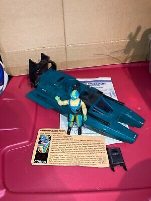 $ CDN52.14 • Buy 1984 Hasbro GI Joe Water Moccasin-100% Complete W/BPs & FC