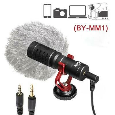 Camera Microphone, External Video Mic Shotgun For Phone,Smartphone,Vlogging NEW • 20.66£
