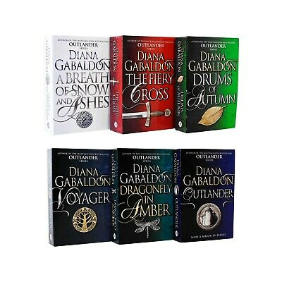 AU59.72 • Buy Outlander Series 6 Books Young Adult Collection Set Paperback By Diana Gabaldon