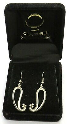 Pair Of Sterling Silver Ladies Earrings By Ola Gorie Orkney  • 31.95£