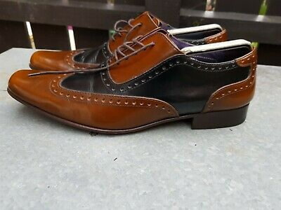 Men's AUTOGRAPH By JEFFERY WEST Two Tone Leather Brogue Shoes. UK Size 9. • 7.50£