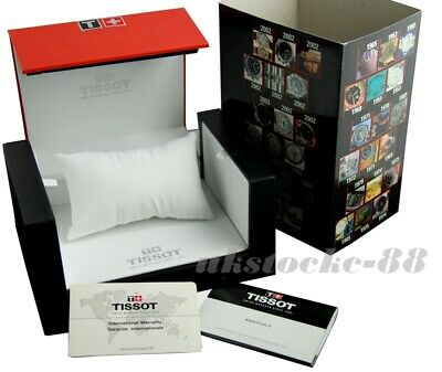 £28.90 • Buy Tissot Watch Box With Tissot Booklet And Warranty Card - Brand New - Unused