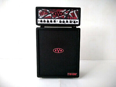 AU38.14 • Buy Miniature Amplifier EVH 5150 Guitar Bass Drum Speaker Cabinet For Display Only