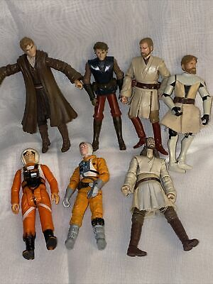 $ CDN7.77 • Buy Vintage Kenner Lot Of Star Wars & Mixed Action Figures No Accessories~p150