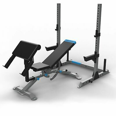 ProForm Olympic Strength System Carbon Utility Weight Bench W/ Squat Stand • 499£