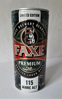 $ CDN10.87 • Buy Faxe Beer Can Opened 2017 Limited Edition 115 Years