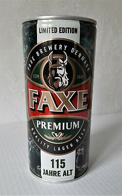 $ CDN11.25 • Buy Faxe Beer Can Opened 2017 Limited Edition 115 Years