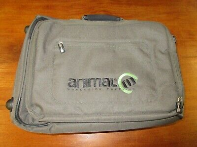 Animal Wheeled Holdall Bag Suitcase Telescopic Handle Good Condition • 15£