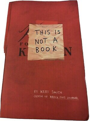 This Is Not A Book By Keri Smith (Paperback, 2011) • 1£