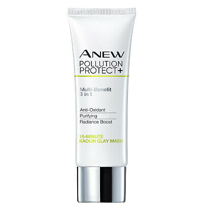 Anew Pollution Protect+ 15-Minute Kaolin Clay Face Mask - 50ml • 9.90£